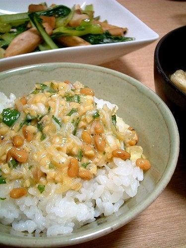グルメ夫が認めたバリウマ料理レシピ-しらす納豆