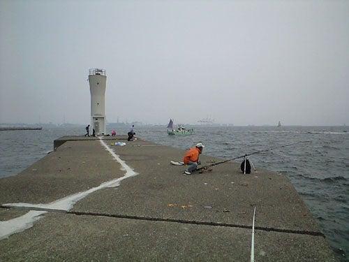 外道大王の釣行記-富岡新堤先端