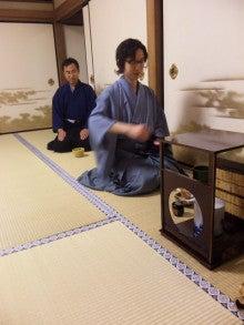 国際文化交流の活動報告-20090620_茶道勉強会20