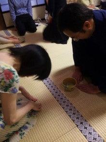国際文化交流の活動報告-20090620_茶道勉強会22