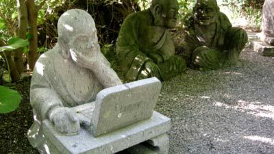 マグネッコ-パソコン羅漢さま