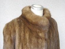 大木毛皮店ギタバカ工場長の毛皮修理リフォーム専門ブログ-ロシアンセーブルコートのリフォーム