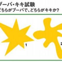 「ブーバ・キキ試験」…