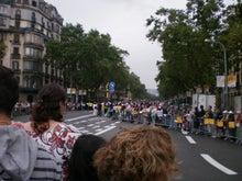 サッカーの技術と戦術 in バルセロナ