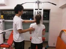 加圧トレーニング専門スタジオZoneのスタッフブログ-会員の吉崎様