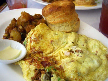 Campbell, CA ~ベイエリアでの暮らし~-Hangtown Fried Oyster & Bacon Scramble