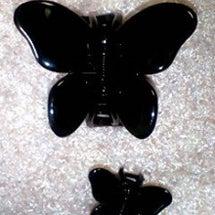 蝶のクリップ