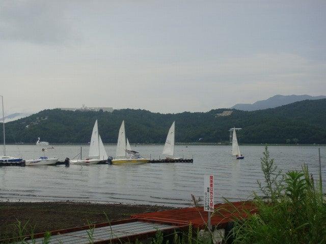 旅犬Lanileaのほほん風船記-河口湖・山中湖