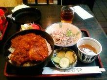 ワークライフバランス 大田区の女性社長日記-ソースカツ丼