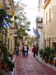 気まぐれな世界-アテネ市街①