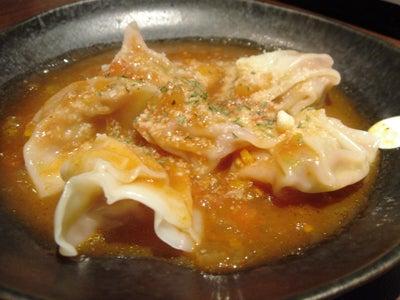 美味しいお店探し旅 -関西中心にいろいろ--トマト水餃子
