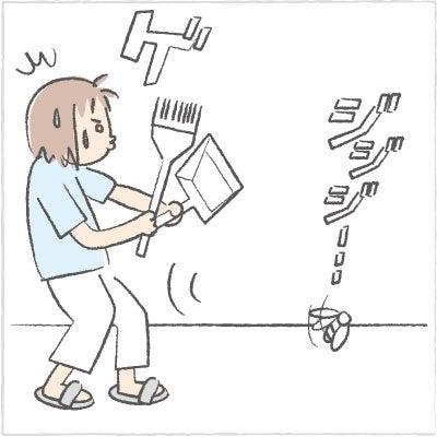 日々の泡・絵日記-セミ04