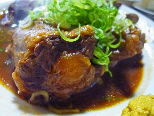 酒リーマンのフードライフat京都-テール煮