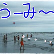 海水浴デビュー (>…