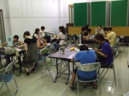 canari♪な吹きガラス☆日記-家庭教育学級1