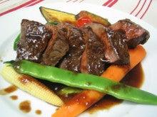 北九州フレンチレストラン - ル・ルビー/小倉北区-牛ハツのロースト赤ワインソース