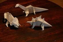 歩き人ふみの徒歩世界旅行 日本・台湾編-恐竜折り紙