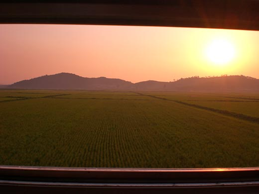 世界一蹴の旅-夕焼け