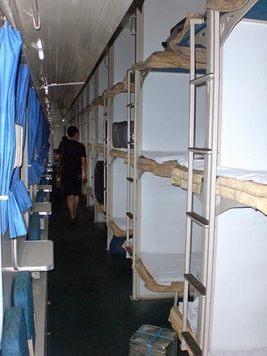 世界一蹴の旅-寝台列車