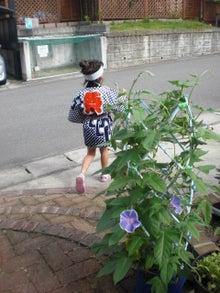 ぽんしゃん、ばぶやんの BUNCH OF LOVELY DAYS!!-asagao