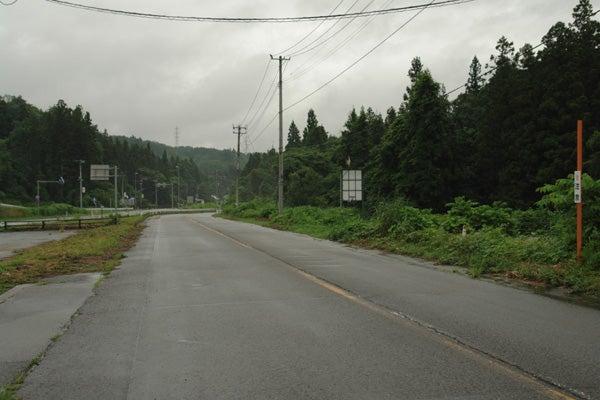 第2回 国道49号 七折峠 注意↑ | ...