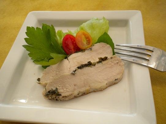 キヨミのガーデニングブログ-蒸し鶏対決のレシピの画像