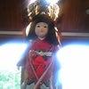 本堂でお経を唱えだすと市松人形が喋ったの画像