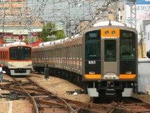 阪神電車@尼崎