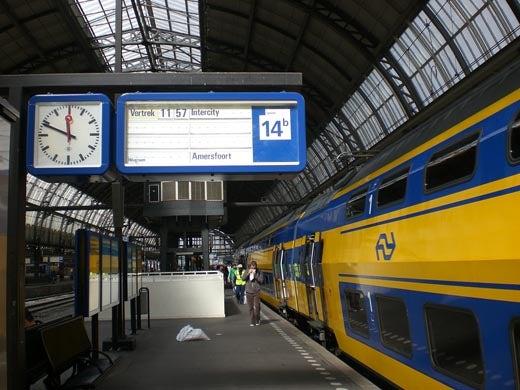 世界一蹴の旅-オランダ電車