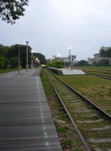 台東旧駅からずず~っと伸びる散...