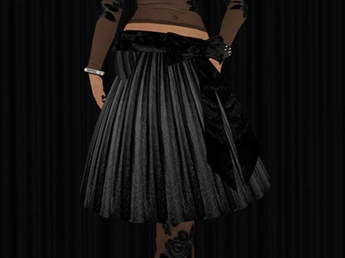 Maya's style / Second Life Fashion-Black Rose detail