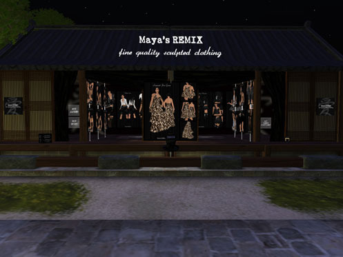 Maya's style / Second Life Fashion-shop1