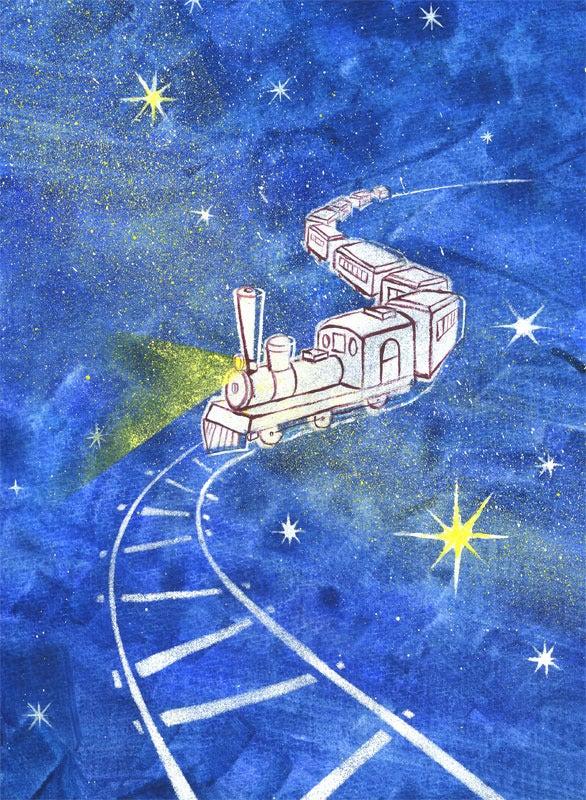 銀河鉄道の夜 オシャレなイラストファクトリー