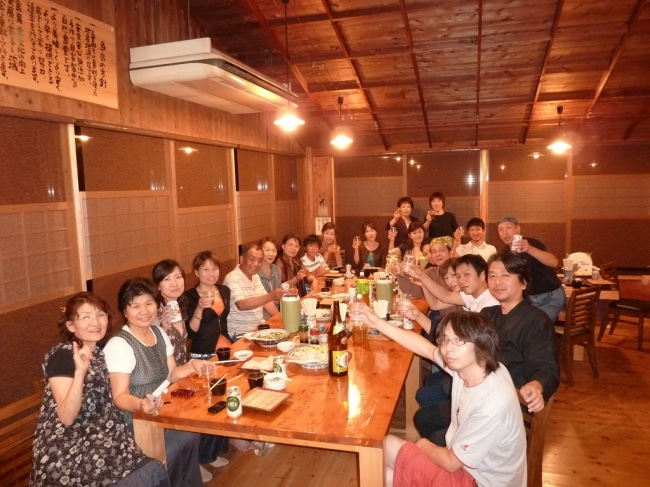 いろりや9640ブログ~高知県黒潮町LOVEな毎日をお届け~-乾杯