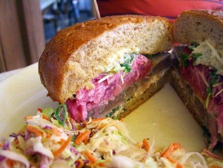 Campbell, CA ~ベイエリアでの暮らし~-Grilled Tuna Burger その2