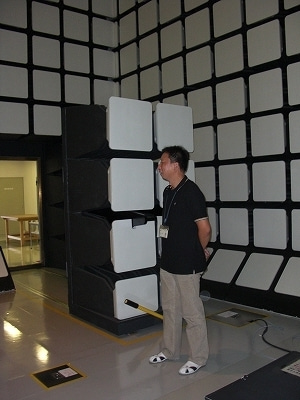 NEC特選街情報 NX-Station Blog-EMC試験室 電波暗室|EIZO 工場見学
