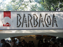 $ペルー人女性と結婚したら…-バルバッコア看板