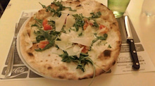 那須日記ブログ編-イタリアのピザ