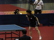 JAPAN DEAF TABLE TENNIS-台北デフ99