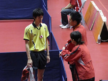 JAPAN DEAF TABLE TENNIS-台北デフ90