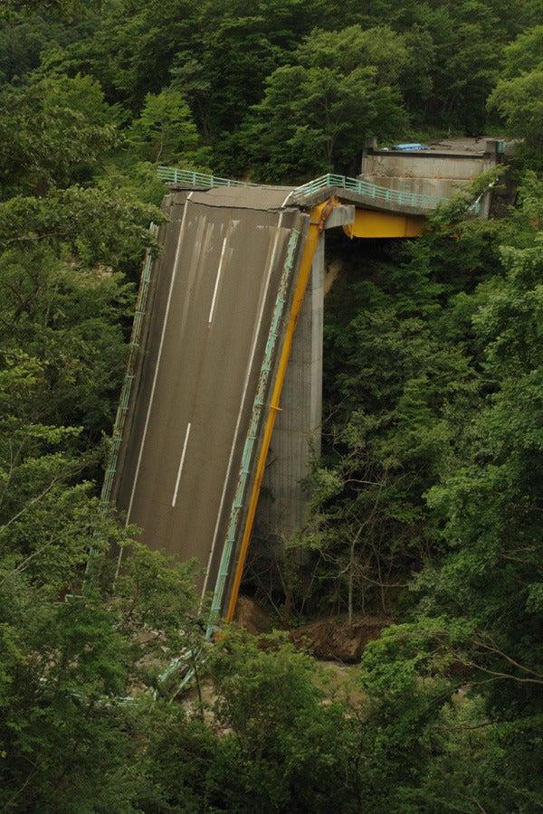 RoadJapan 日本の道路、昭和の旧道を巡る旅-国道342号 祭畤大橋4