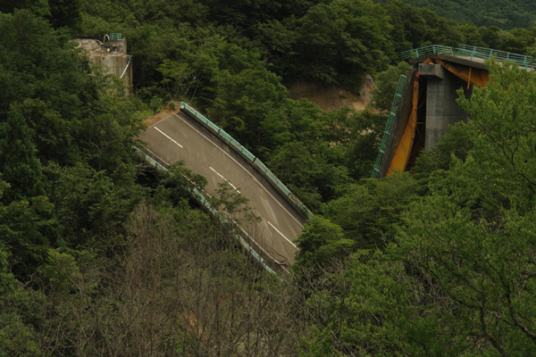 RoadJapan 日本の道路、昭和の旧道を巡る旅-国道342号 祭畤大橋1