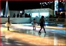 Figure skating-Beauty girl