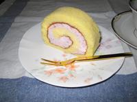 イタ猫 リッキー-ロールケーキ