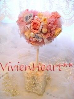Vivien Heart**-パステルピンク