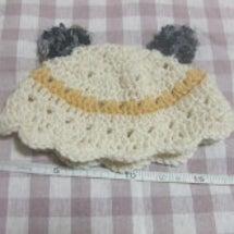 パンダ帽子です