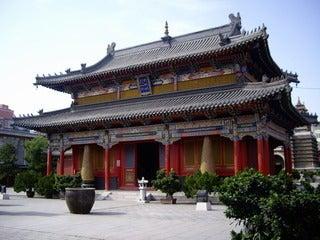 中国大連生活・観光旅行通信**-1五塔寺