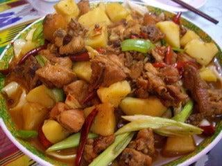 中国大連生活・観光旅行通信**-4紅石榴 新疆料理