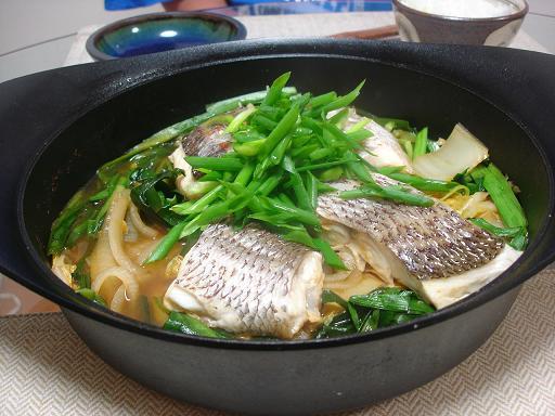 共働き主婦のお料理ノート-鯛と白菜のコチュジャン煮