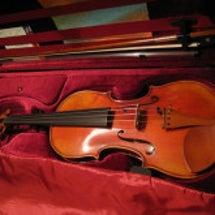 私のバイオリン♪